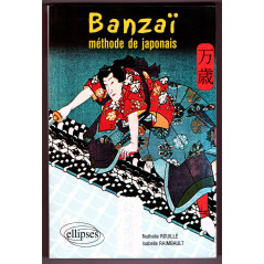 Face avant livre apprentissage d'occasion Banzai Méthode de Japonais
