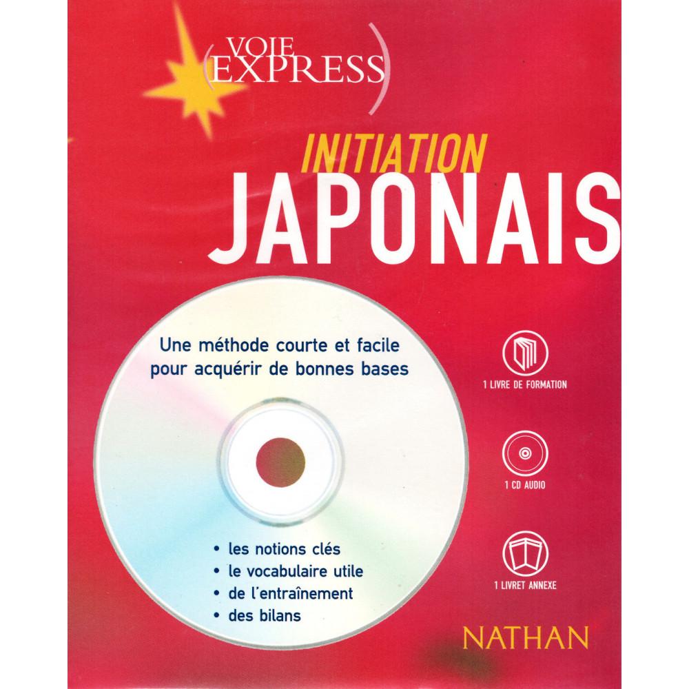 Couverture livre CD apprentissage d'occasion Initiation Japonais