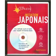 Face avant livre CD apprentissage d'occasion Initiation Japonais