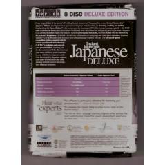 Face arrière livre et CD apprentissage d'occasion Instant Japanese Delux