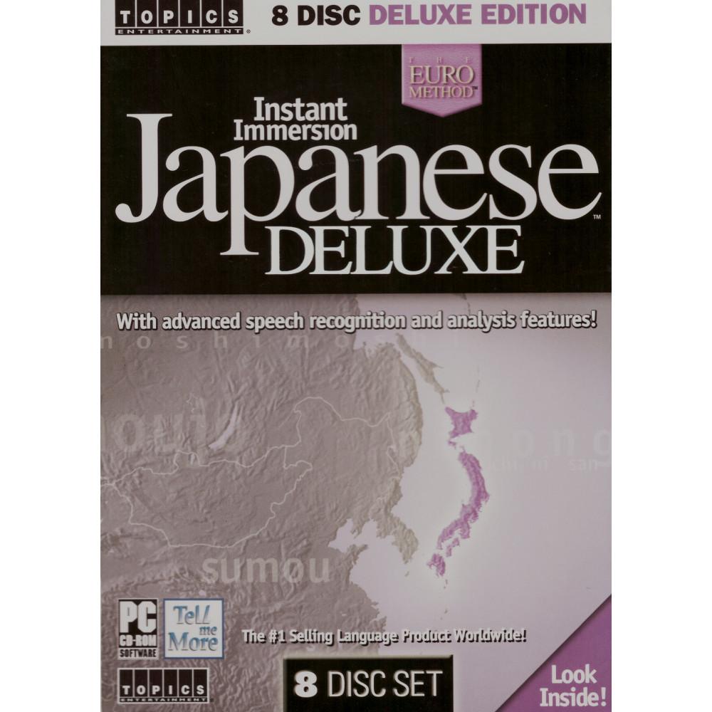 Couverture livre et CD apprentissage d'occasion Instant Japanese Delux