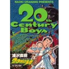 Couverture manga d'occasion 20th Century Boys Tome 03 en version Japonaise