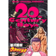 Couverture manga d'occasion 20th Century Boys Tome 04 en version Japonaise