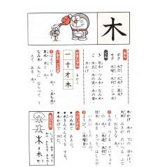 Page livre apprentissage d'occasion Doraemon - Kanji Jiten Etape 1