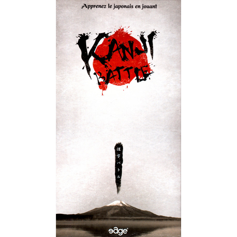 Couverture Jeu apprentissage d'occasion Kanji Battle