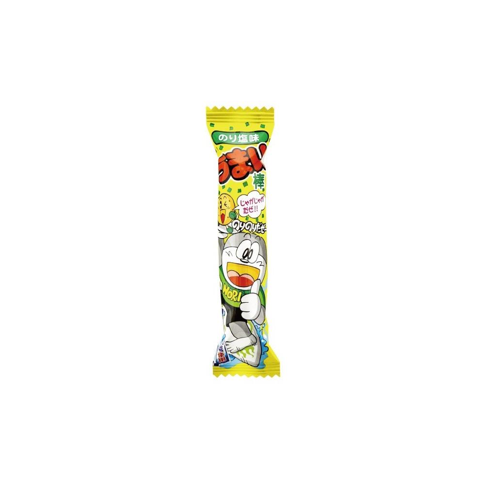 Snack Japonais à base de maïs avec ici une saveur d'Algue Salée