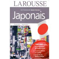Couverture du livre Dico maxi poche + Larousse d'occasion en Français pour l'apprentissage du Japonais