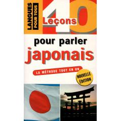Couverture livre apprentissage d'occasion 40 leçons pour parler Japonais